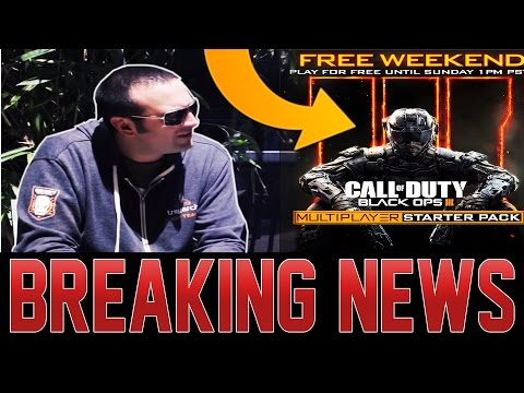 JASON BLUNDELL SECRET ZOMBIES ASSET REVEAL UPDATE!  BLACK OPS 3 IS FREE TO PLAY THIS WEEKEND!