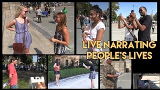 Live-Narrating People's Actions - Movie Trailer Voice