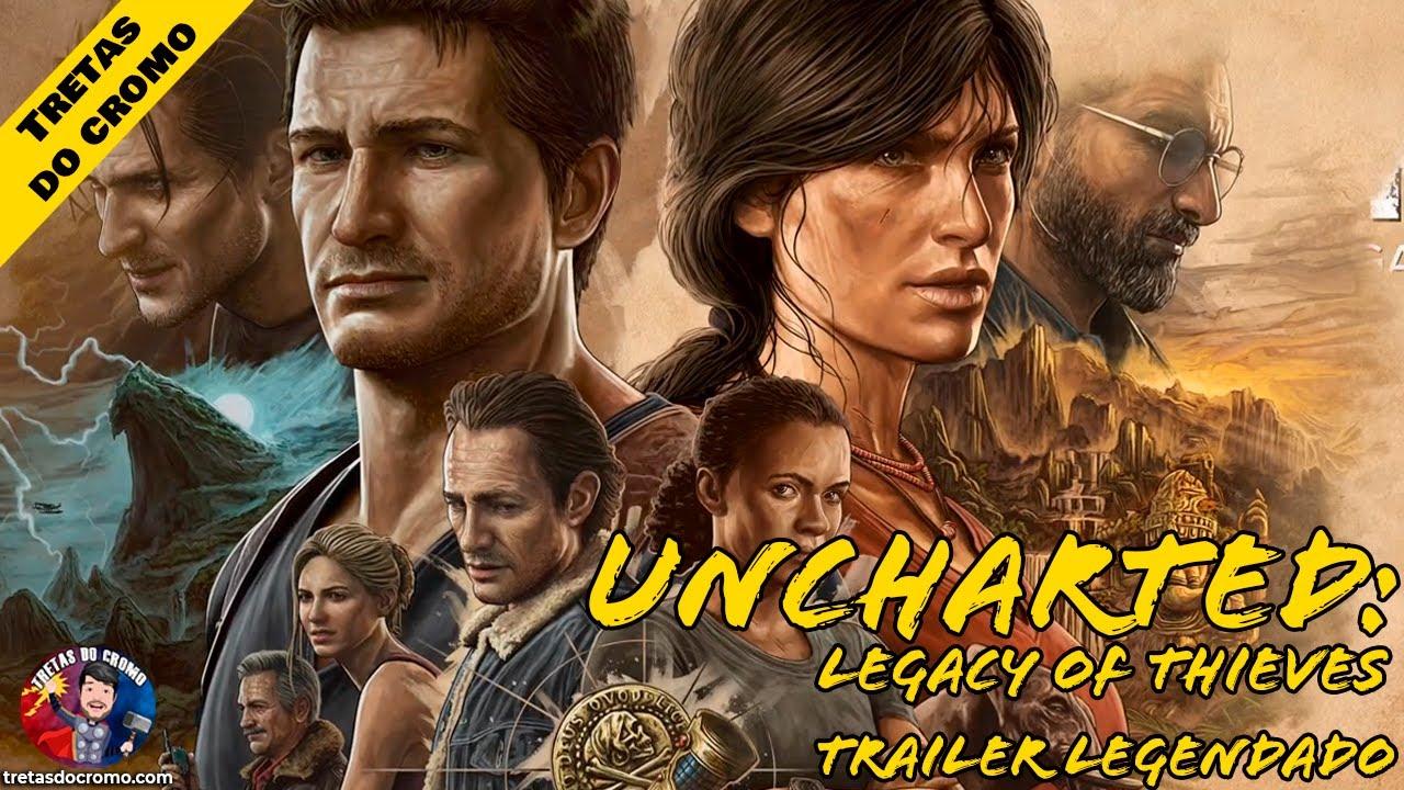 Uncharted 4 e Lost Legacy está a ser remasterizado para PC e PS5, e revela teaser trailer