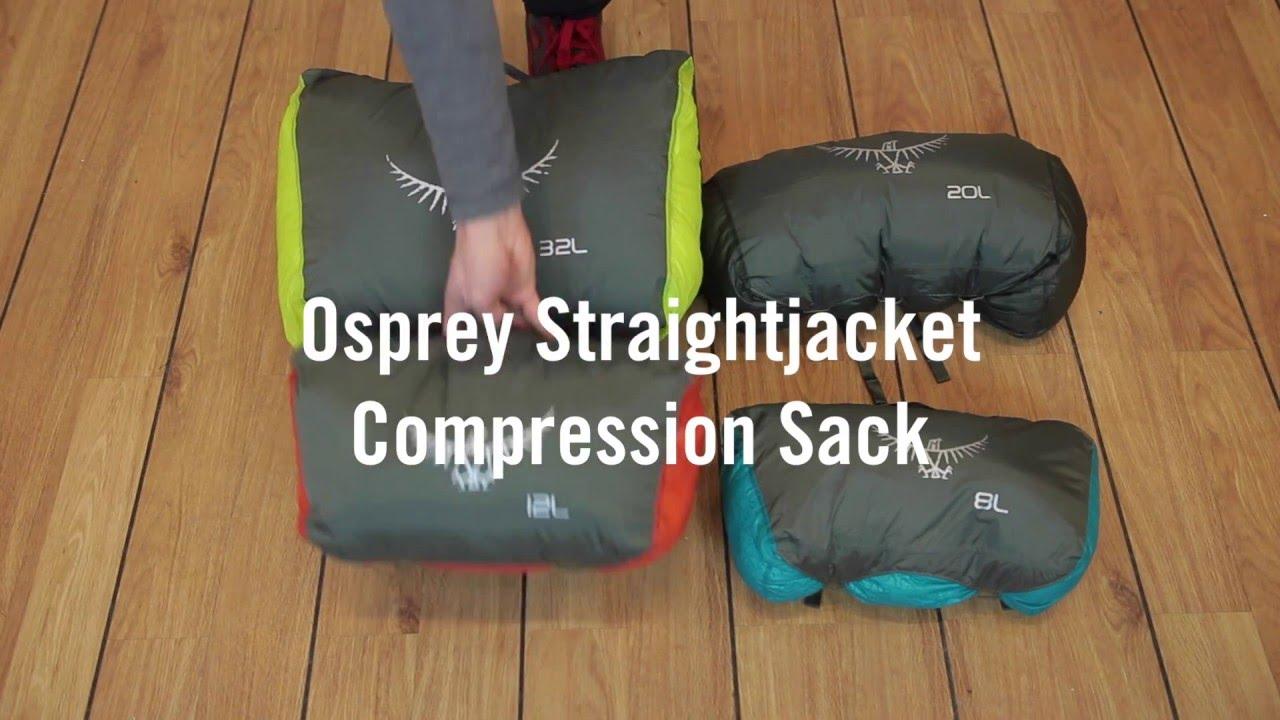 5c7b61126a1 Osprey Straightjacket Compression Sack 8-32 l - YouTube