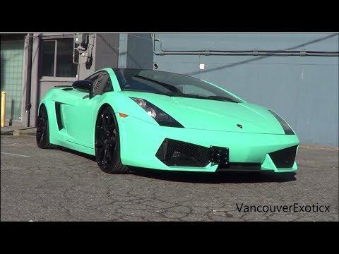 Tiffany Blue Lamborghini Gallardo Se W Larini Small