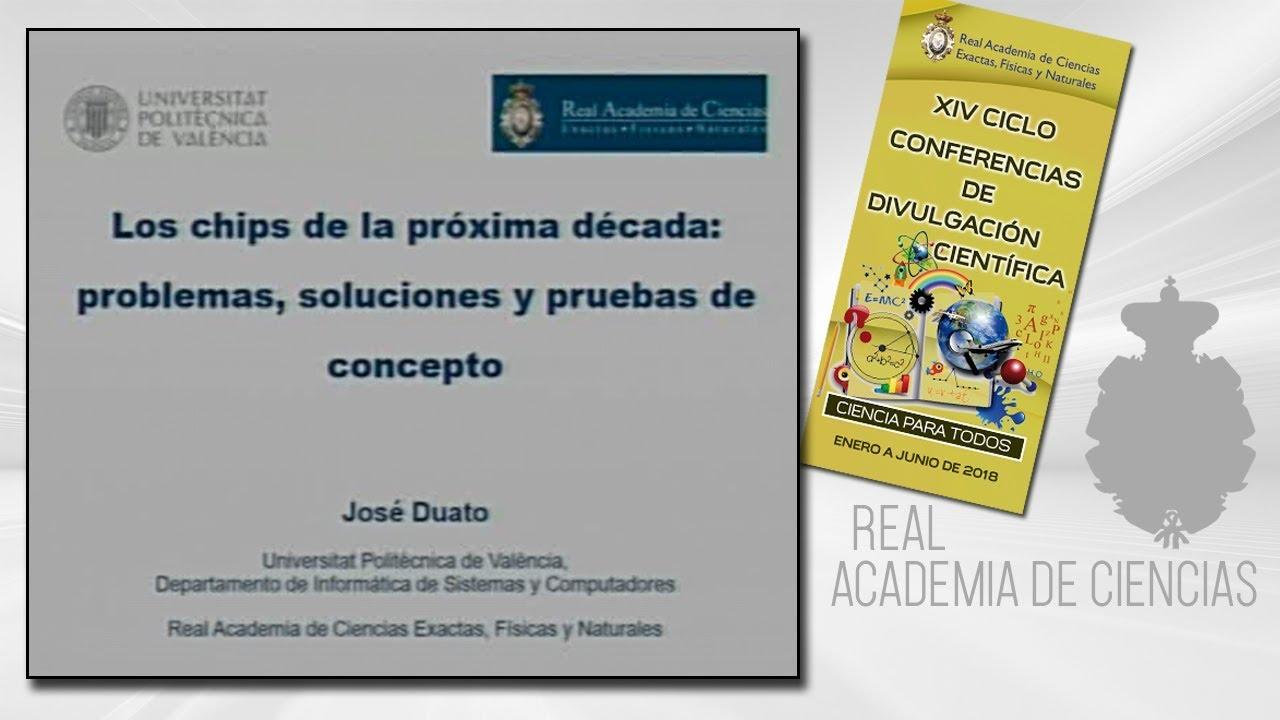 José Duato Marín, 24 de mayo de 2018.18º conferencia delXIV CICLO DE CONFERENCIAS DE DIVULGACIÓN CIENTÍFICA.CIENCA PARA TODOS 2018http://www.rac.eshttps://twitter.com/racienciashttps://arac.rac.es/