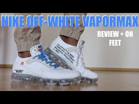NIKE OFF WHITE VAPORMAX 2018 WHITE REVIEW + ON FEET