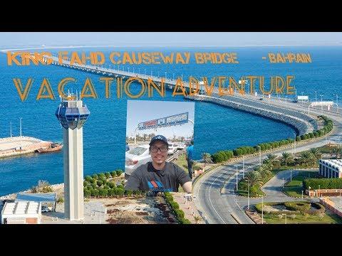 King Fahd Causeway - Bahrain Bridge (Park Adventure) Closer BackGround