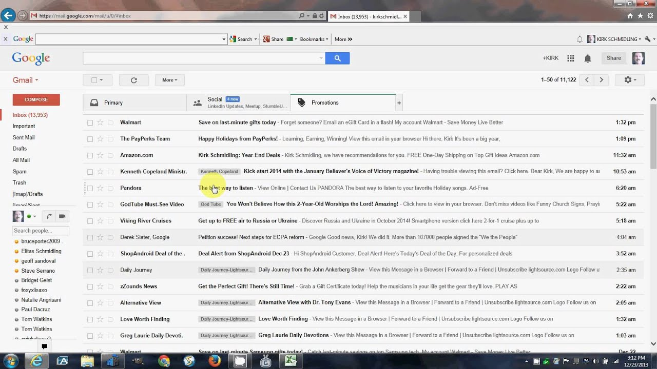 How to Organize Your Google Gmail Inbox - YouTube