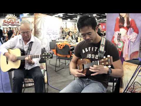 You Belong With Me - Bruce, PukanaLa Ukulele at NAMM Show 2014
