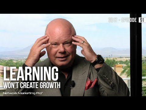 Learning Won't Create Growth