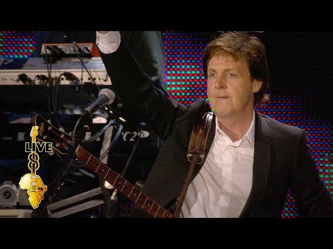Paul McCartney - Get Back (Live 8 2005)