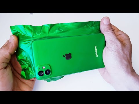 DIY | oppo convert iphone 12 Mini – wrapping cell phone in foil – wrapping paper phone