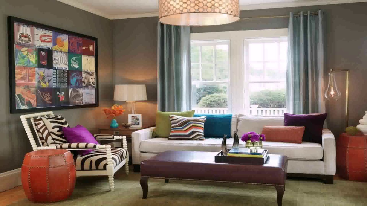 Funky Eclectic Living Room Design - Gif Maker DaddyGif.com ...