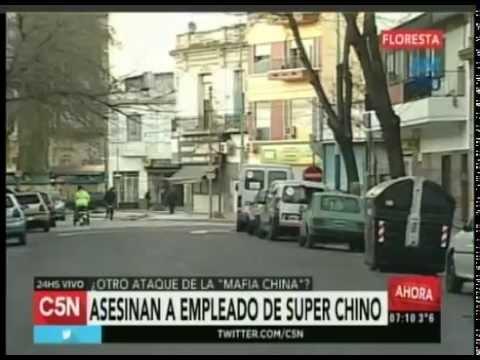 C5N - Policiales: Asesinaron a empleado de super chino en Floresta