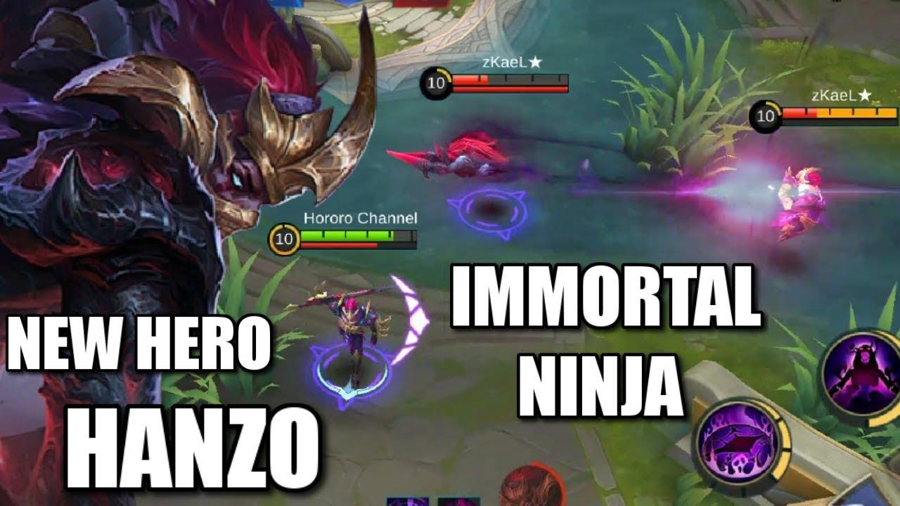 NEW HERO HANZO THE UNKILLABLE NINJA