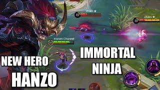 Download Video NEW HERO HANZO THE UNKILLABLE NINJA MP3 3GP MP4