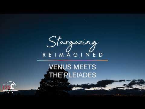 Venus Meets the Pleiades 2020