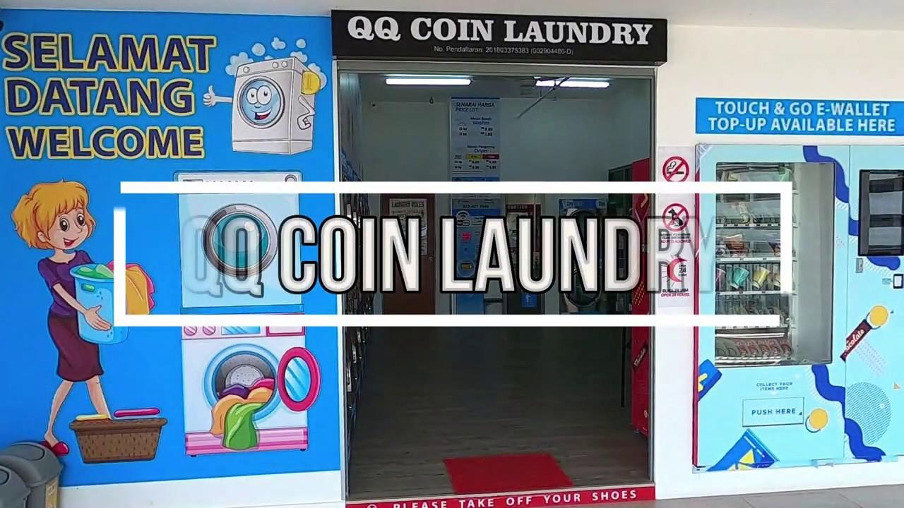 Utropolis Qq Coin Laundry Batu Kawan Youtube
