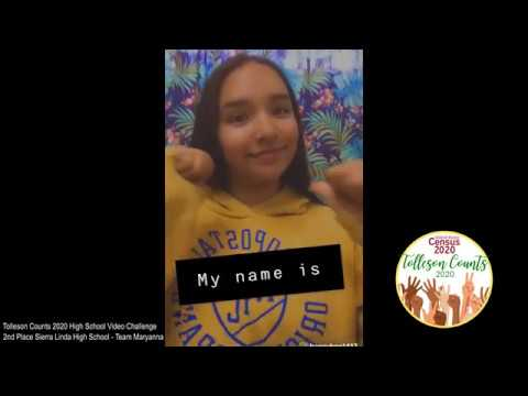 Tolleson Counts 2020 Video Challenge -  2nd Place Sierra Linda High School