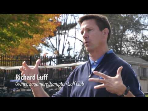 Assessing stream health on a N.H. golf course