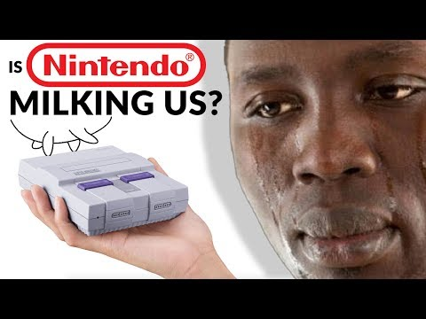 NINTENDO SUCKING YOU DRY? - Dude Soup Podcast #128