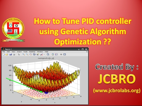Genetic Algorithm based PID parameter Optimization....