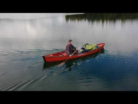 XYZ canoe drone xdcam test