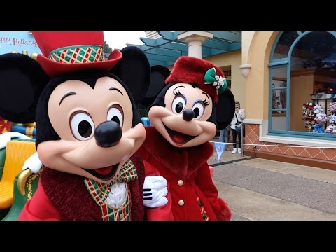A Magical Christmas 2015 at Disneyland Paris