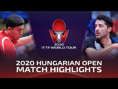 Bence Majoros vs Panagiotis Gionis   2020 ITTF Hungarian Open Highlights (R32)