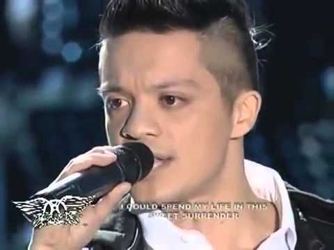 Bamboo sings 'I Don't Wanna Miss A Thing' on ASAP