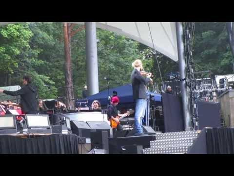 """Дэвид Гарретт исполняет """"Лакримозу"""" Моцарта, Берлин, 23.06.2015 Mozart - Lacrimosa"""