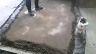 Виброукладка керамической плитки(Проба виброукладки керамической плитки., 2016-04-14T15:26:15.000Z)