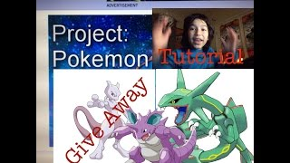 Roblox Project Pokemon Ev training for Noobs