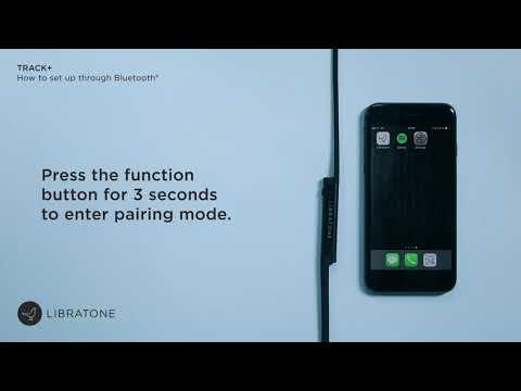 How to set-up TRACK+ via Bluetooth