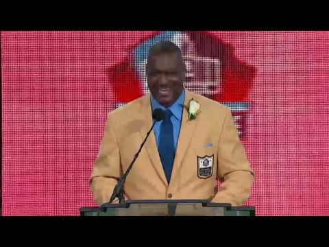 Derrick Brooks Thanks Martin Gramatica