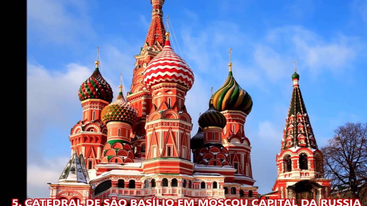 VAMOS PARA MOSCOU CAPITAL DA RUSSIA - YouTube