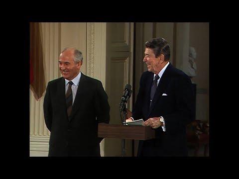 The Reagan   Reagan and Gorbachev