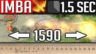 1.5 сек кд 350 урона 1500 дальность, это ли не ИМБА? | LINA DOTA 2
