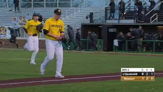 HIGHLIGHTS: Mizzou Defeats No. 12 Vanderbilt, 2-1