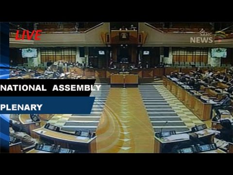 National Assembly plenary: 28 February 2017