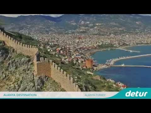 Alanya Turkey Travel Video | Holiday in Alanya Turkey | Detur