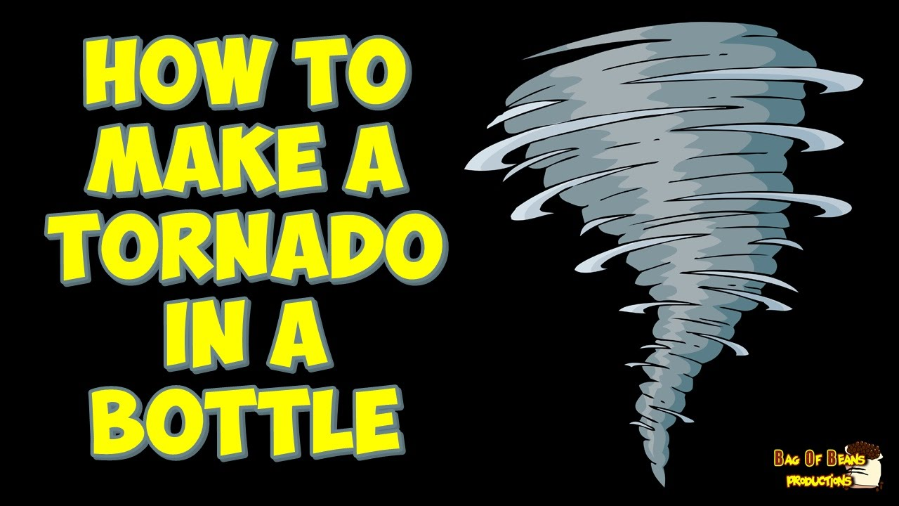 Watch How to Make a Tornado in a Bottle video