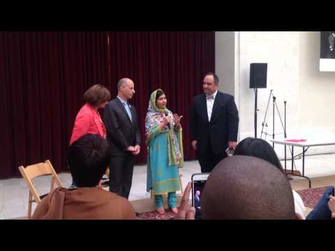 Malala Yousafzai addresses #UN70 Digital Leaders Luncheon - #1