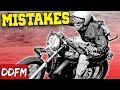 5 Common Mistakes Experienced Motorcycle Riders Make