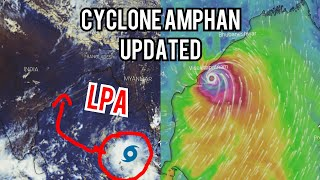 CYCLONE AMPHAN ||ECMWF, GFS FORECAST MODEL || LETEST UPDATE|| WETHER INDIA