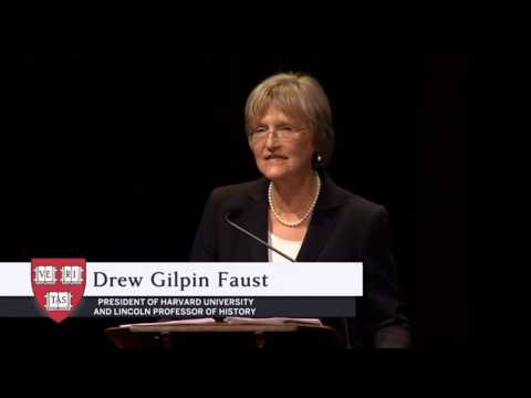 President Drew Gilpin Faust's Remarks | The Harvard Campaign Launch