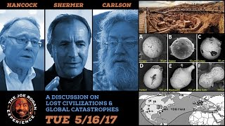 The Great Debate - Joe Rogan, Graham Hancock, Randall Carlson & Michael Shermer - JRE #961