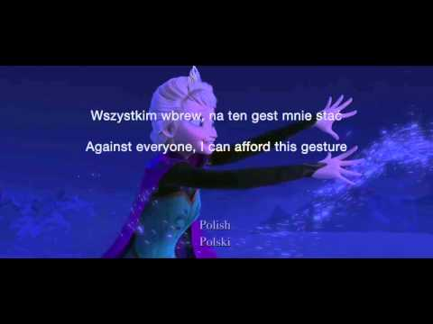 Let It Go 25 Languages  Subtitles + Translation