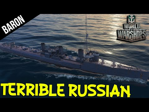 The Terrible Russian - World of Warships Russian Destroyers