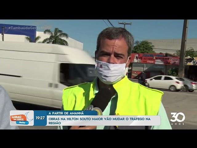 Confira mudanças na avenida Hilton Souto Maior, facilitando trânsito - Tambaú da Gente Noite
