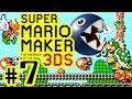 SUPER MARIO MAKER FOR 3DS # 07 ? Käfer-Mario legt sich mit Kettenhunden an! [HD60]