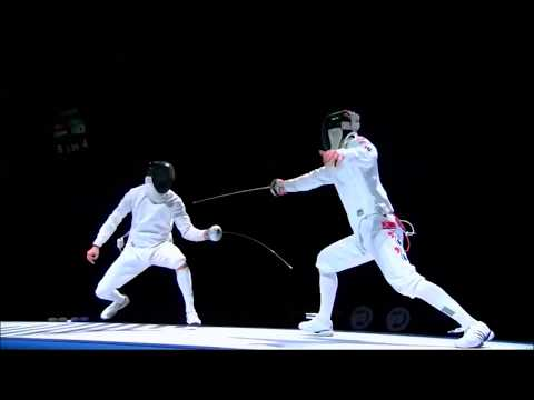 Senior World Fencing Championship Moscow 2015 Men's Epee Semi Final: Imre (HUN) vs Jung (KOR)