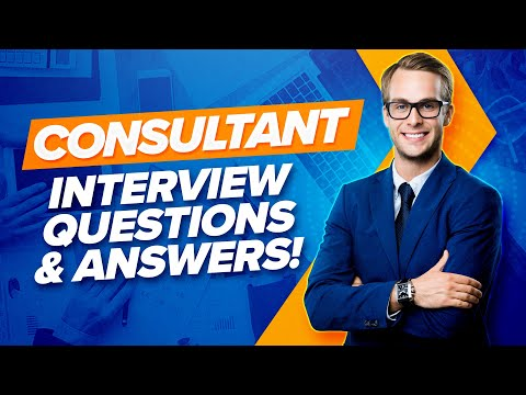 CONSULTANT Interview Questions & Answers! (PASS Any CONSULTING Job Interview!)